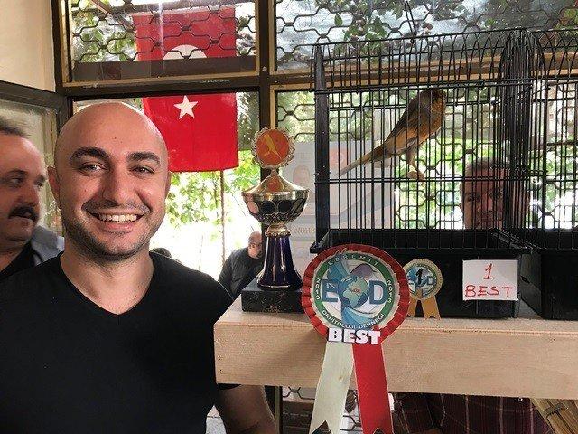 Edremit Ornitoloji Derneği kanarya yarışması ile sezonu açtı
