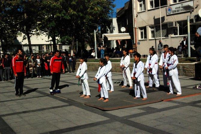 Bayramiç'te Amatör Spor Haftası kutlamaları
