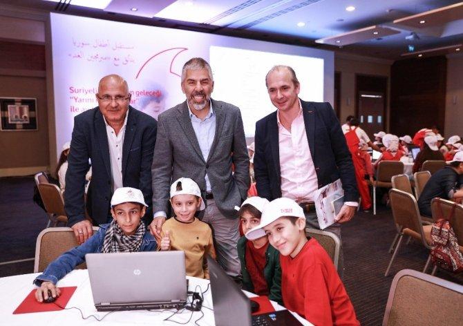Şanlıurfa'da 125 Türk ve Suriyeli çocuk kod yazılımı yarışmasında buluştu