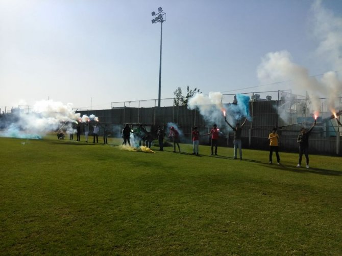 Diyarbekirspor'a taraftarlardan tam destek