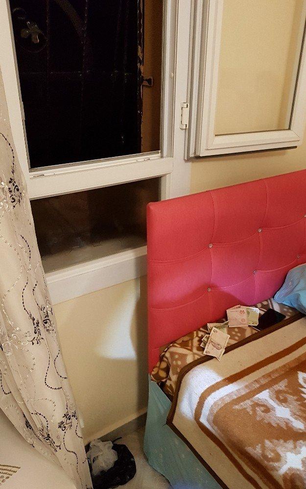 Yatak odası penceresinden uyuşturucu satışı