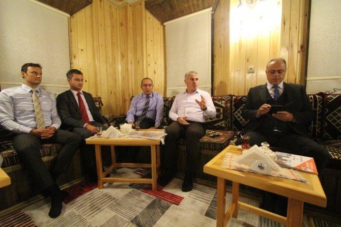 Başkan Memiş, emniyet teşkilatıyla buluştu