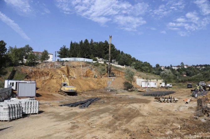 Beykoz İmam Hatip Ortaokulu'nun inşasına başlandı