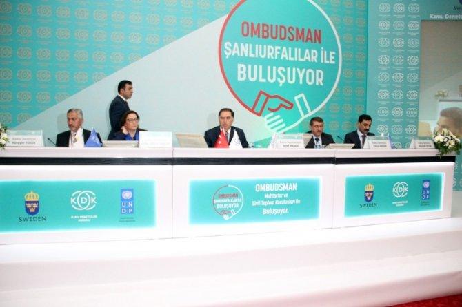 """Kamu Başdenetçisi Şeref Malkoç: """"Türkiye 2023'te dünyanın ilk on ülkesi arasına girecek"""""""