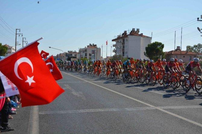 Bisikletçiler Dalaman, Ortaca ve Köyceğiz'den ceçti
