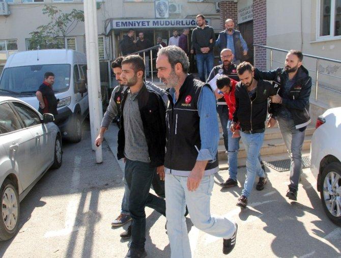 Bursa merkezli uyuşturucu operasyonunda 7 tutuklama
