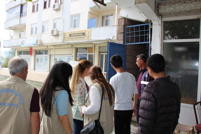 Hani'de işyerlerinde gıda denetimi