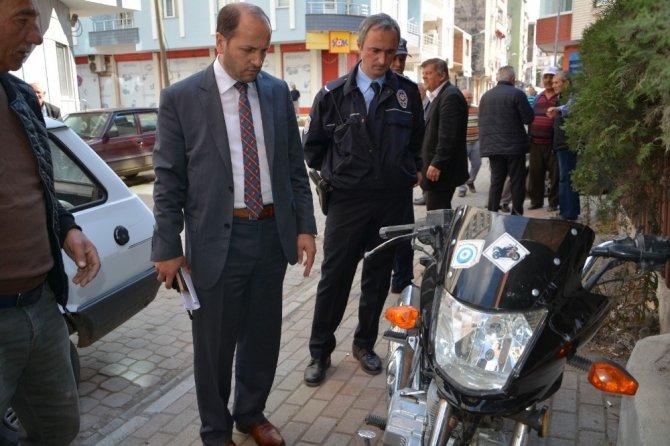 Emniyet plakasız motosikletler için harekete geçti