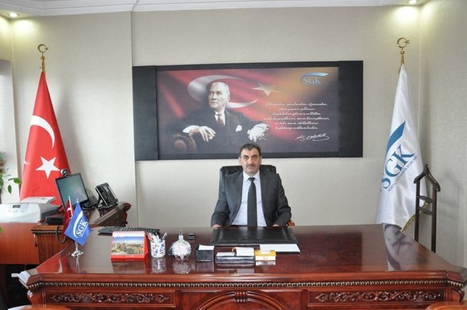 SGK İl Müdürü Durmuş'tan ertelenen sigorta primleri açıklaması