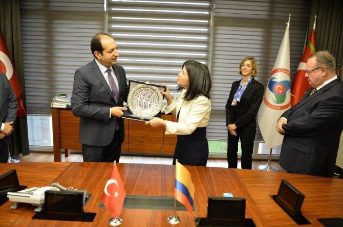 Kolombiya ile ticareti geliştirecek işbirliği
