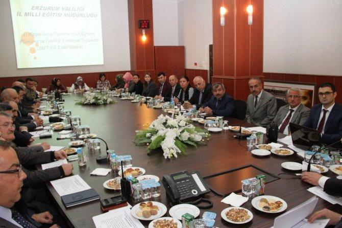 Hayat Boyu Öğrenme, Halk Eğitimi Planlama ve İşbirliği Komisyonu toplantısı yapıldı