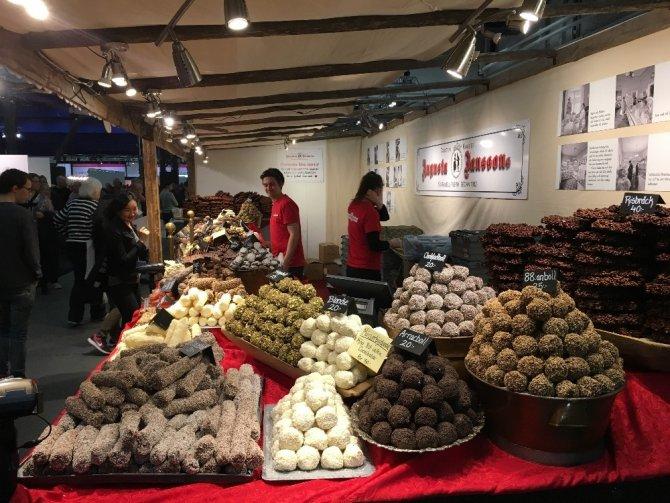 """""""Uluslararası Çikolata Festivali"""" Stockholm'de başladı"""
