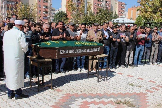 Rafineri patlamasında hayatını kaybeden işçi son yolculuğuna uğurlandı