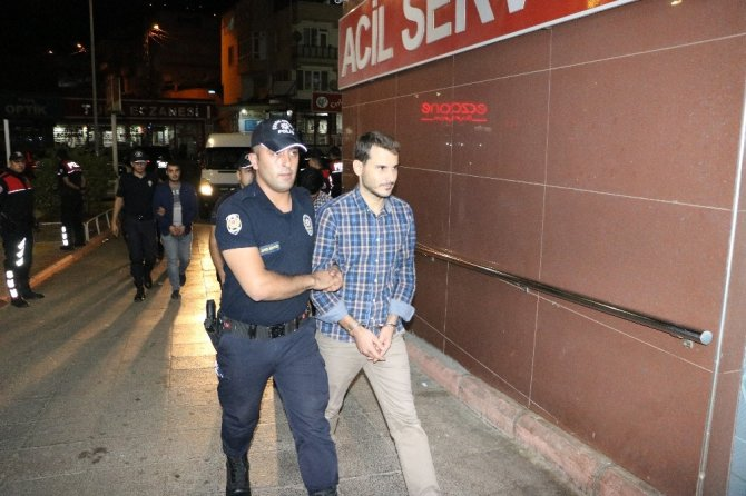 Kahramanmaraş'ta FETÖ operasyonunda 14 tutuklama