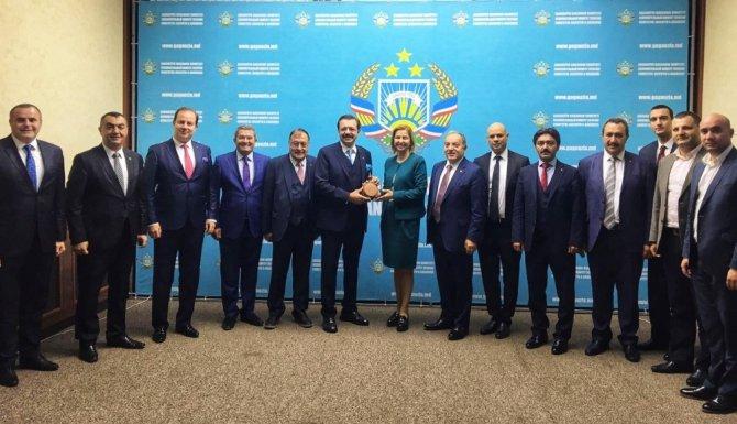 Kayso Başkanı Büyüksimitci TOBB Heyeti İle Moldova'da Temaslarda Bulundu