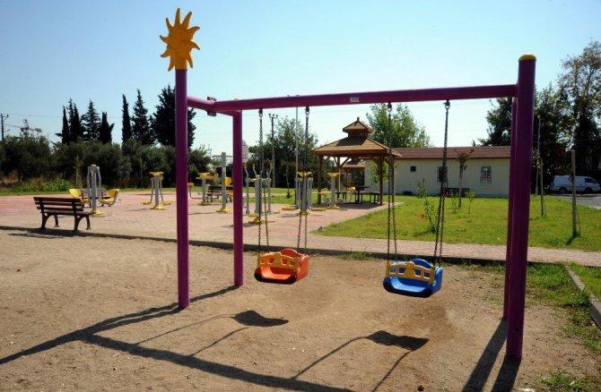 Altınova'ya yeni park