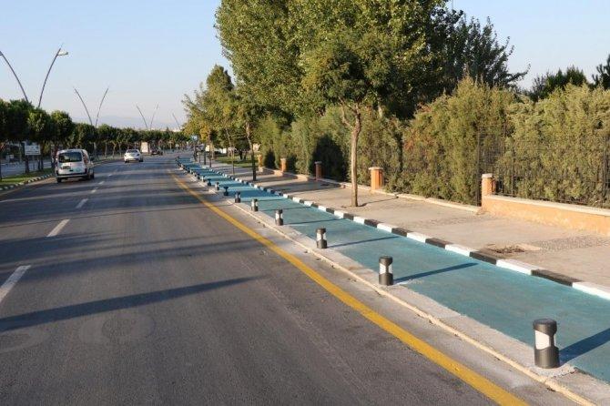 Manisa'da 41 kilometrelik bisiklet yolu açılışa hazırlanıyor