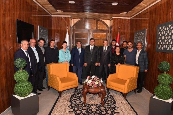 Başkan Asya, 'Dünya Mirası Türkiye' programına konuk oldu
