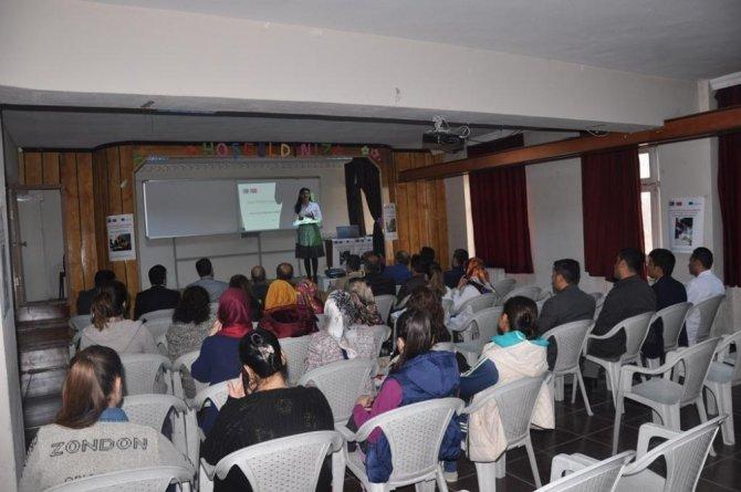 Muş'ta 'Okul Terklerini Nasıl Azaltabiliriz?' projesi