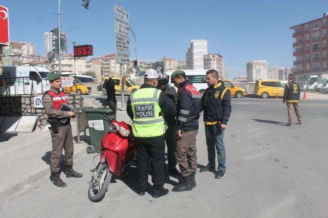 Polis ve Jandarmadan motosiklet uygulaması