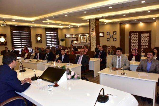 Başkan Çelik yeni okul müdürleriyle bir araya geldi