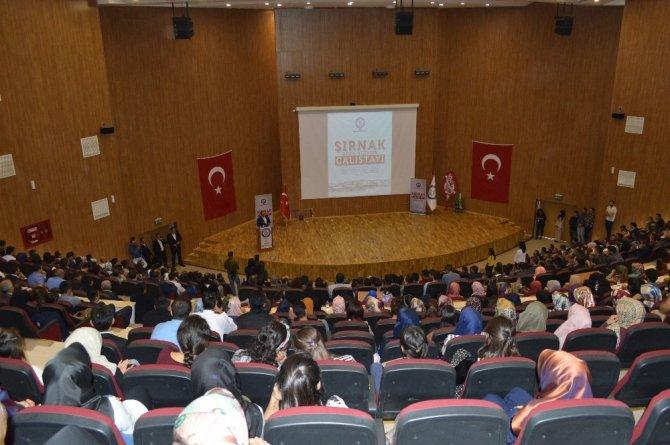 """""""Şırnak 2023 Vizyon Çalıştayı"""" başladı"""