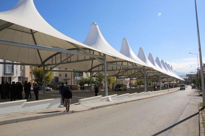 Sivas'a modern pazar yeri