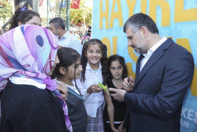 """Başkan Hüseyin Keskin: """"Her mahallemize park kazandırmak için çalışıyoruz"""""""