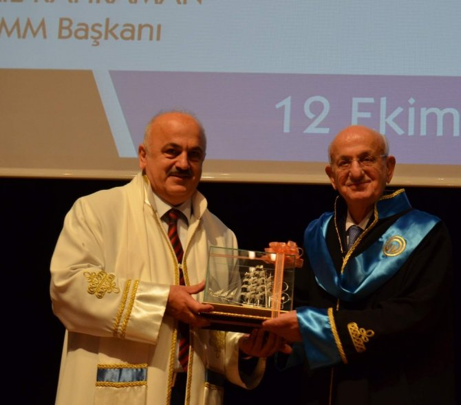 TBMM Başkanı İsmail Kahraman'a Onur Doktorası