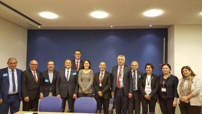 Başkan Ataç Open Days 15. Avrupa Bölgeler ve Şehirler Haftası programına katıldı