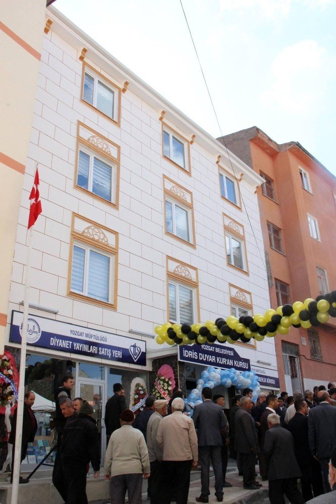 Yozgat'ta Kur'an kursu dualarla açıldı