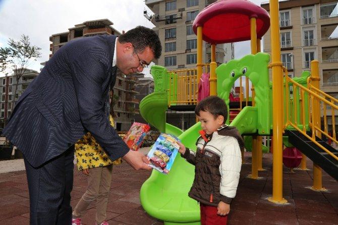 Atakum'da 3,5 yılda 55 çocuk parkı yapıldı