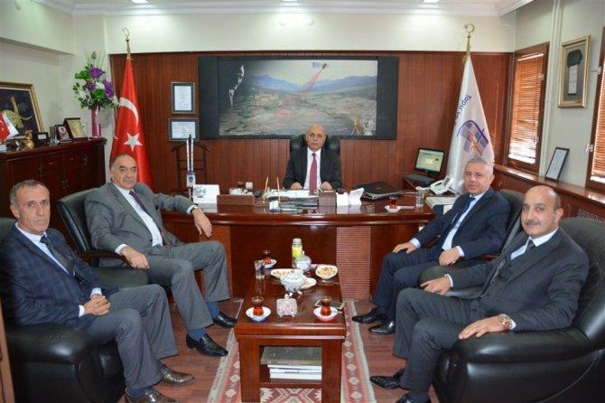 KOOP-İŞ Genel Başkanı Van Tapu ve Kadastro 15. Bölge Müdürünü ziyaret etti