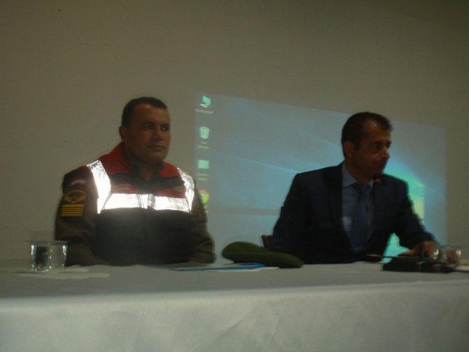 Servis şoförlerine eğitim semineri