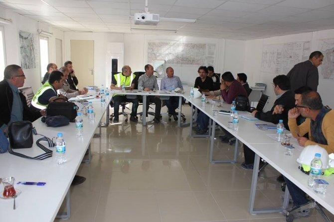 DSİ heyeti Hasankeyf ilçesindeki çalışma alanlarını inceledi