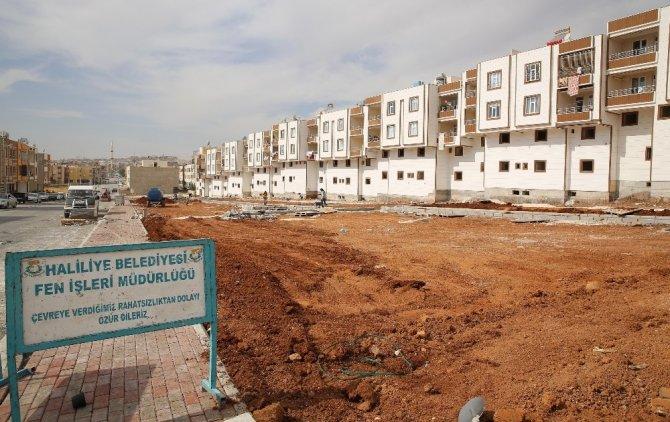 Haliliye Belediyesinden Ahmet Yesevi'de yeni park çalışması