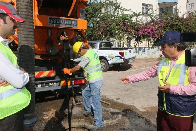 ASKİ tedbir aldı, Adana'da su baskını yaşanmadı