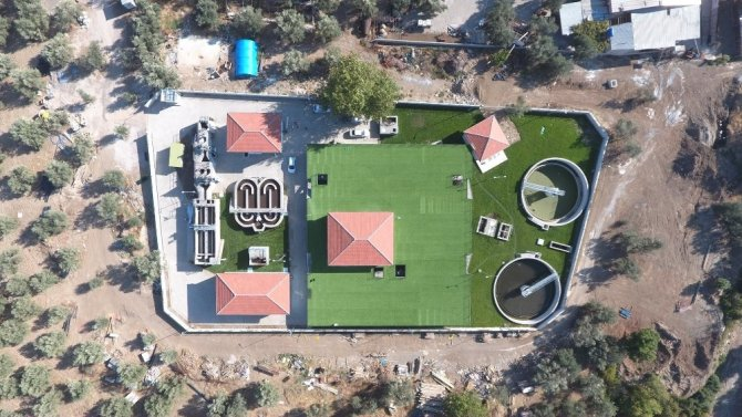 Edremit'te atıksu arıtma tesisi kapasitesi 270 bin kişiye ulaştı