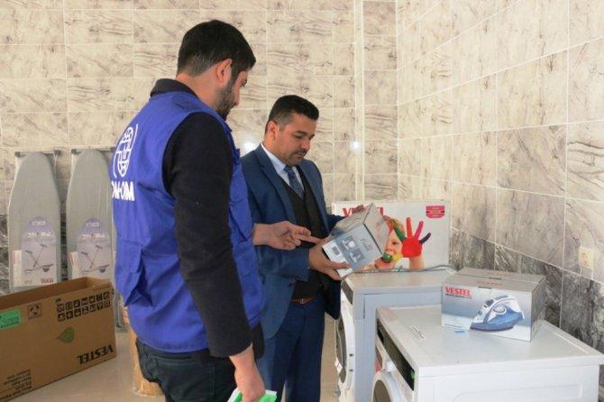 Dar gelirliler ve Suriyeliler için çamaşırhane kuruluyor