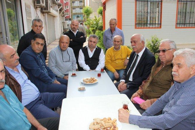 Başkan Seyfi Dingil'den esnaf ziyareti
