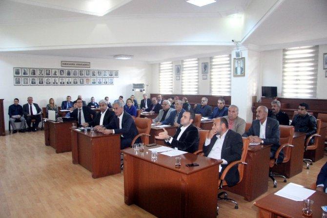 Belediye Meclisinde 24 gündem konusu ile toplandı