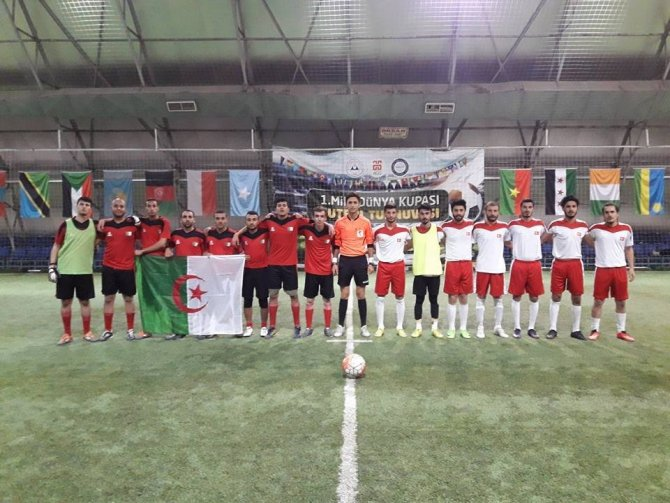 Kocasinan'ın Uluslararası Turnuvasında Yarı Final Heyecanı