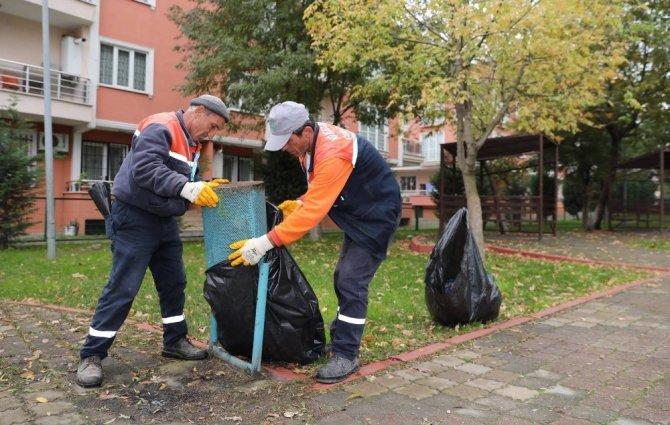 Körfez'de sonbahar temizliği gerçekleştirildi