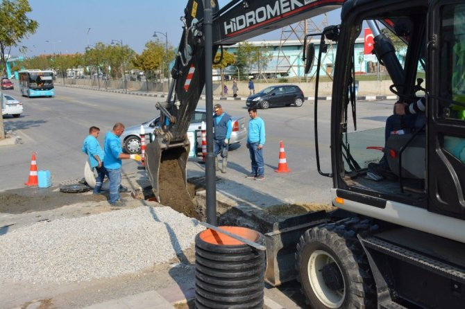 Sümerpark Projesinde altyapı çalışmaları başladı