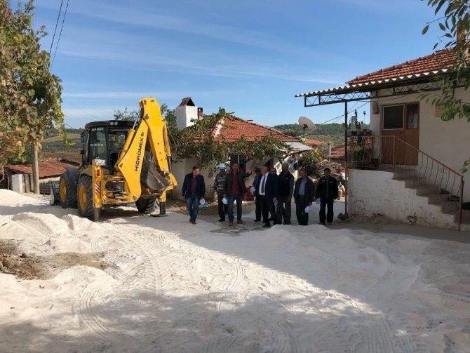 Hacıosmanlar'a 11 kilometrelik altyapı hizmeti