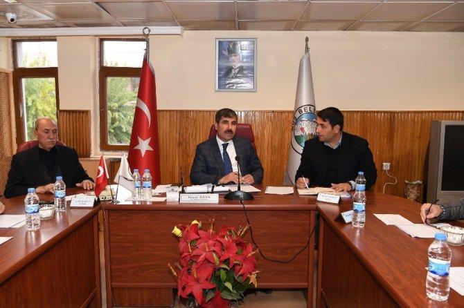 Muş Belediye Meclisi toplandı