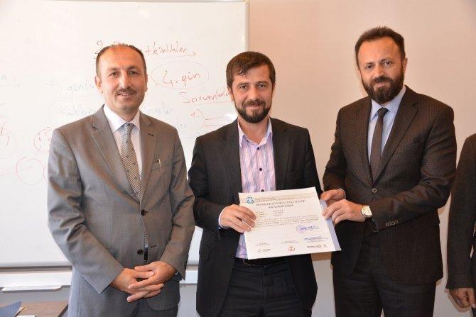 SEDEP'te ilk sertifikalar verildi