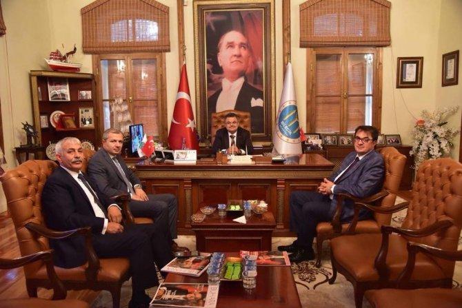 İstanbul Bilecikliler Derneği'nden Başkan Yağcı'ya davet