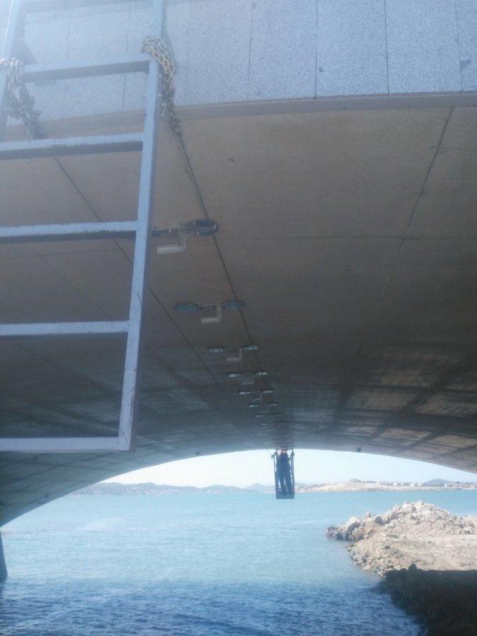 Cunda Köprüsü ışıl ışıl olacak