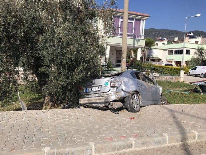 Takla atan araçtan fırlayan sürücü hayatını kaybetti